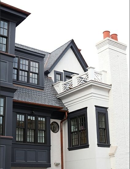 Painted brick white houses simon 39 s house for Pictures of exterior painted brick houses